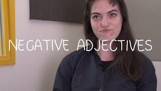 Weekly French Words with Lya - Negative Adjectives