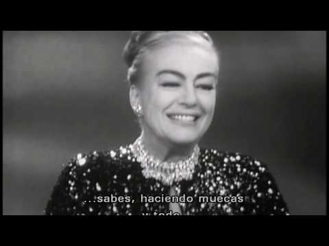 """Joan Crawford recuerda """"Gran Hotel"""" (""""Grand Hotel"""" Memories)"""