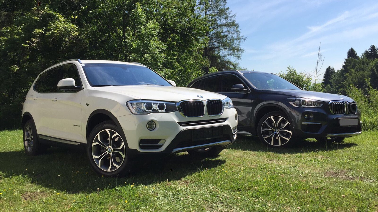 bmw x3 xdrive20d f25 lci vs bmw x1 xdrive18d f48. Black Bedroom Furniture Sets. Home Design Ideas