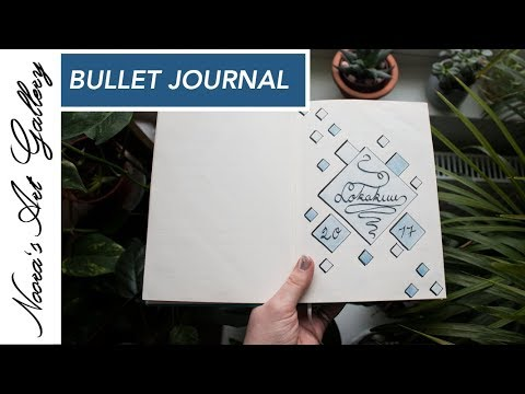 Bullet Journal - Lokakuu - Noora's Art Gallery
