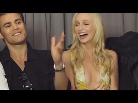 "Paul Wesley & Candice Accola | ""I like her"""