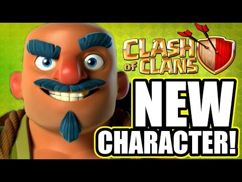"NEW CHARACTER IN CLASH OF CLANS! ""THE TRADER"" - HUGE UPDATE 2018!"