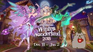 Girl Gamer Overwatch Winter Wonderland Live PS4