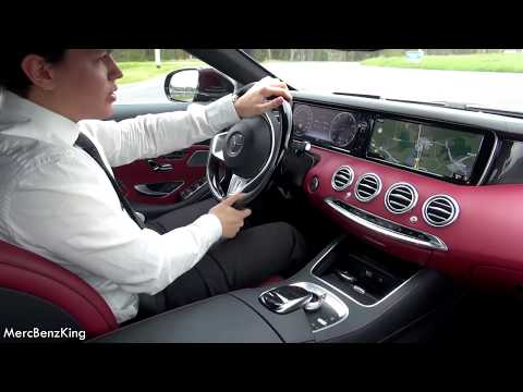 2017 Mercedes S Class AMG S500 - LUXURY Park Itself? Review Test Drive Cabrio Convertible