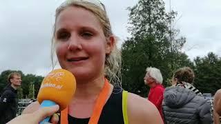 Heleen Moes wint duathlon bij eerste 'Giesbeek Triathlon'