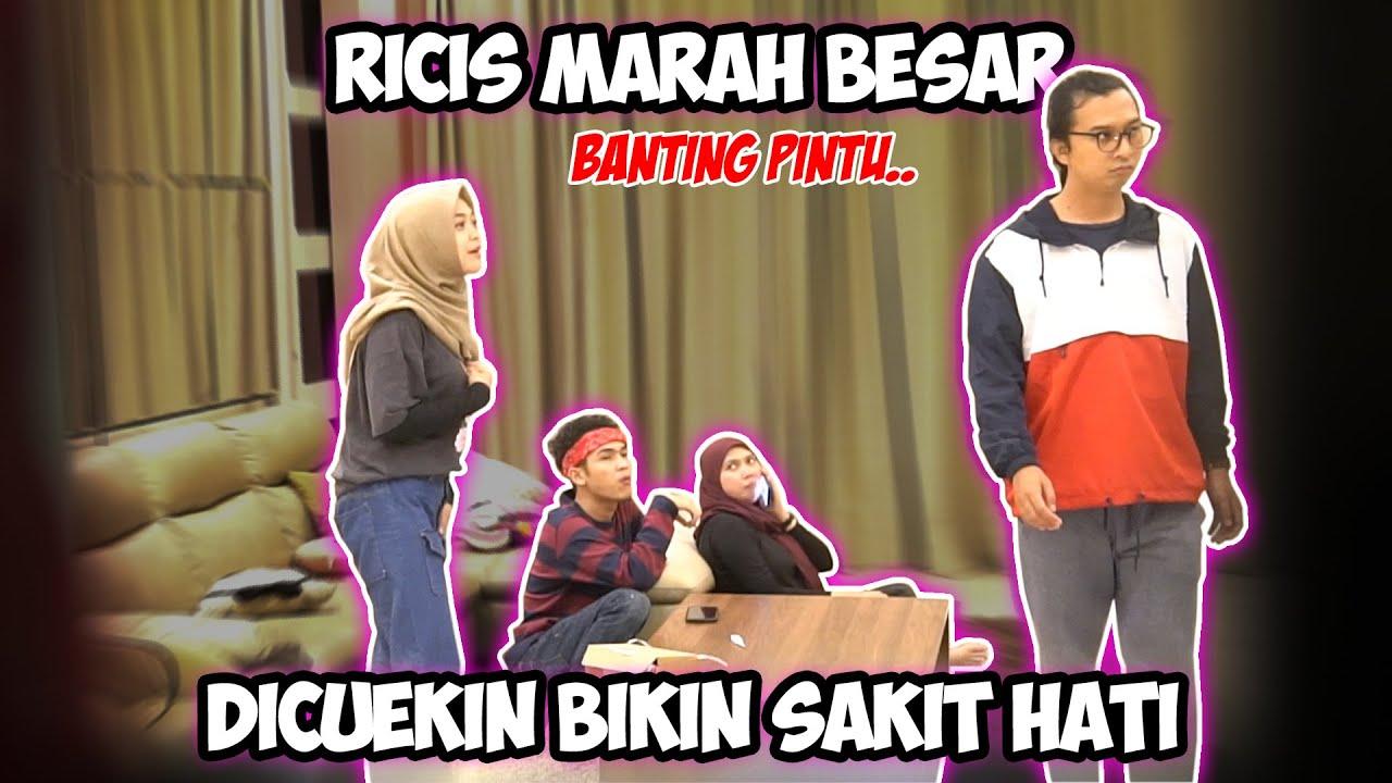 RICIS MARAH BESAR DICUEKIN SEMUA TIM RICIS.. Banting Pintu!!!