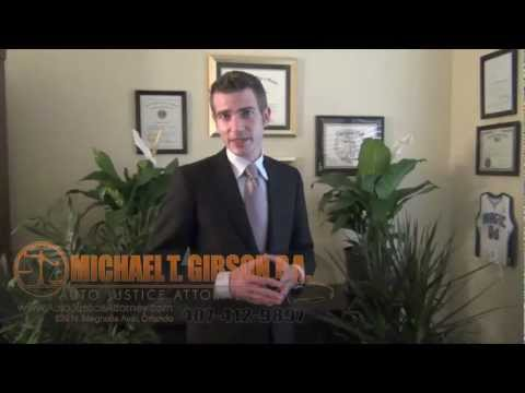 Orlando Florida Personal Injury Attorney Michael T. Gibson
