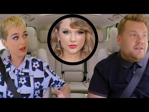 Katy Perry SPILLS on Taylor Swift Feud During Carpool Karaoke
