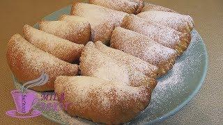 Пирожки из творожного теста с джемом (Pies made of cottage cheese pastry with jam)
