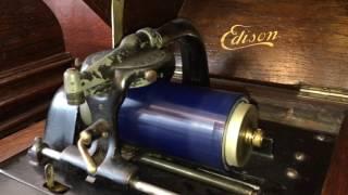 知り合いが持っている本物エジソンの蓄音機の生音です。