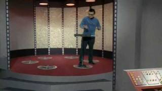 Trekkie plays Star Trek theme on Theremin