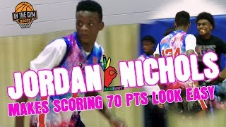 Jordan Nichols DROPS 70 Pts In BallisWife Camp Game