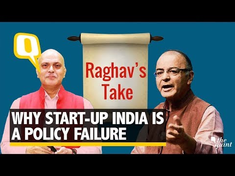 Raghav's Take: Why Startup India is a Big Policy Failure