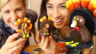 THANKSGIVING TURKEY COOKIE TUTORIAL (I think) w/ Hannah Hart!