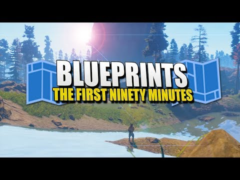 BLUEPRINTS - The First Ninety Minutes (Rust)