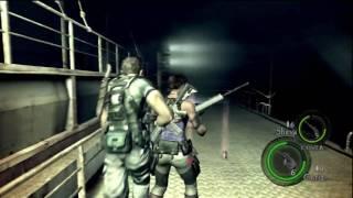Resident Evil 5 HD Chapter 6-2 (End) Boss Battle Uroboros Aheri P50