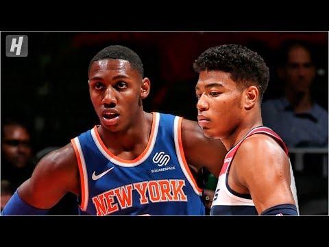 New York Knicks vs Washington Wizards - Full Game Highlights | October 7, 2019 | 2019 NBA Preseason