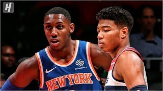 New York Knicks vs Washington Wizards - Full Game Highlights | October 7, 2019 | 2019 NBA Preseason