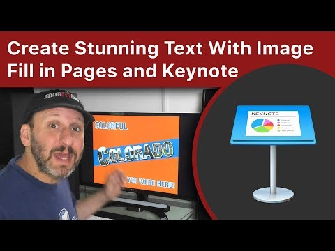 Create Stunning Text With Image Fill in Pages and Keynote