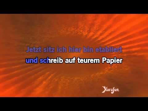 Karaoke Mit 18 - Marius Müller-Westernhagen *