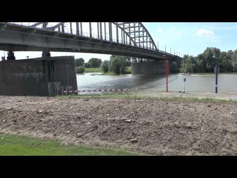 Operation Market Garden, The John Frost Bridge, Arnhem, Netherlands.