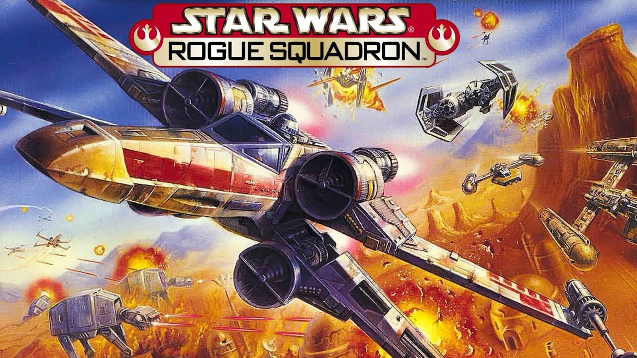 Image result for star wars rogue squadron