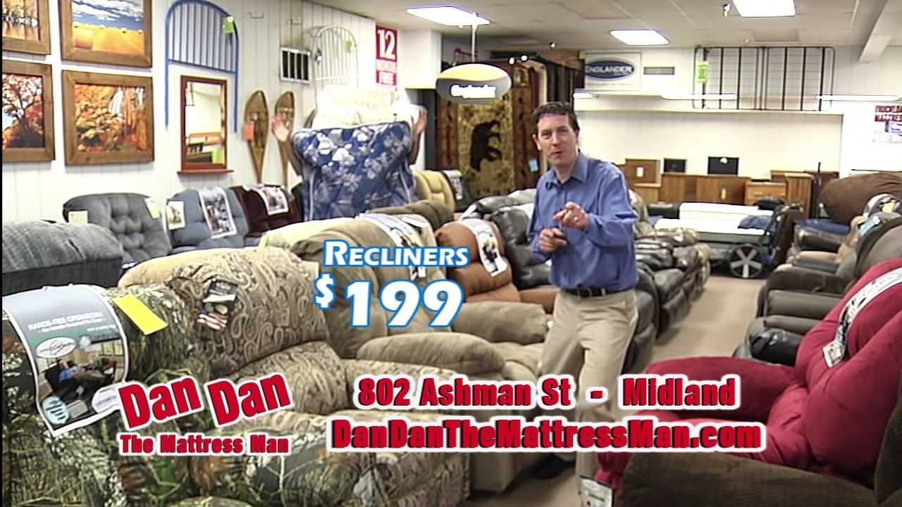 Dan Dan The Mattress Man Summer Commercial Youtube
