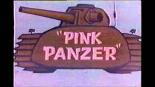 Pink Panzer - Pink flags flying