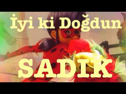 İyi ki Doğdun SADIK :)  Komik Doğum günü Mesajı 1. VERSİYON ,DOĞUMGÜNÜ VİDEOSU Made in Turkey :) 🎂