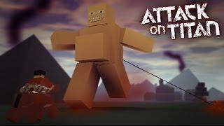 A POR LOS TITANES /ROBLOX /ATACK ON TITAN - EP. 1.