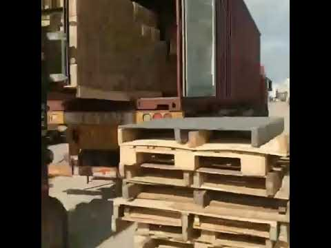 Automated machinery is loaded and shipped to improve shipping efficiency