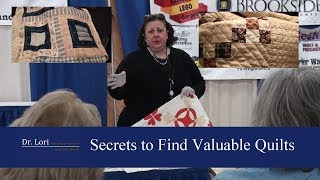 How to Find & Value Quilts at Thrift Stores by Dr. Lori