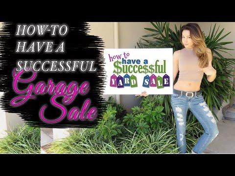 GARAGE SALE 101 - HELPFUL TIPS
