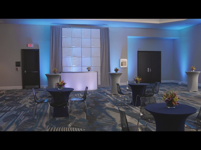 Rosen Centre Signature Room 2 Pre-Function Reception Set