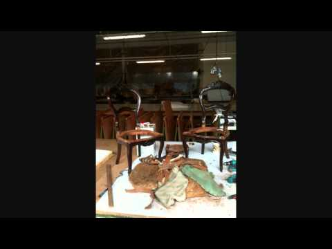 Restauro sedie sgabello cassone a molle ottomana youtube