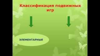 Презентация Подвижные игры