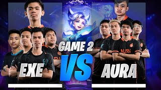 EXECRATION vs AURA PH UPPER BRACKET FINALS GAME 2