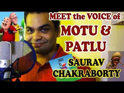 Meet The Voice Of Motu & Patlu - Saurav Chakraborty