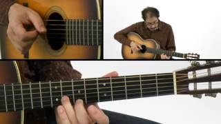 Fingerstyle Blues Guitar Lesson - #12 Slow Fuse - David Hamburger