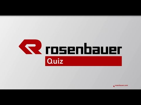 Rosenbauer Quiz - Vol. 4: The Question
