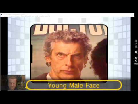 Pokeirv Plays Face Raiders with Peter Capaldi's (The Doctor's) face