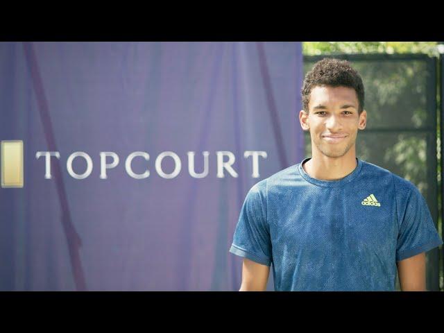 Felix Auger-Aliassime | ATP x TopCourt Tutorial