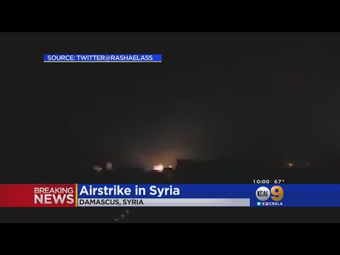 President Trump Orders Air Strikes In Syria