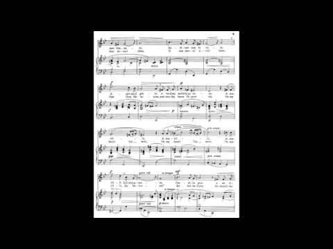 2 Amarilli mia bella (from 24 Italian Songs and Arias) piano melody with accompaniment