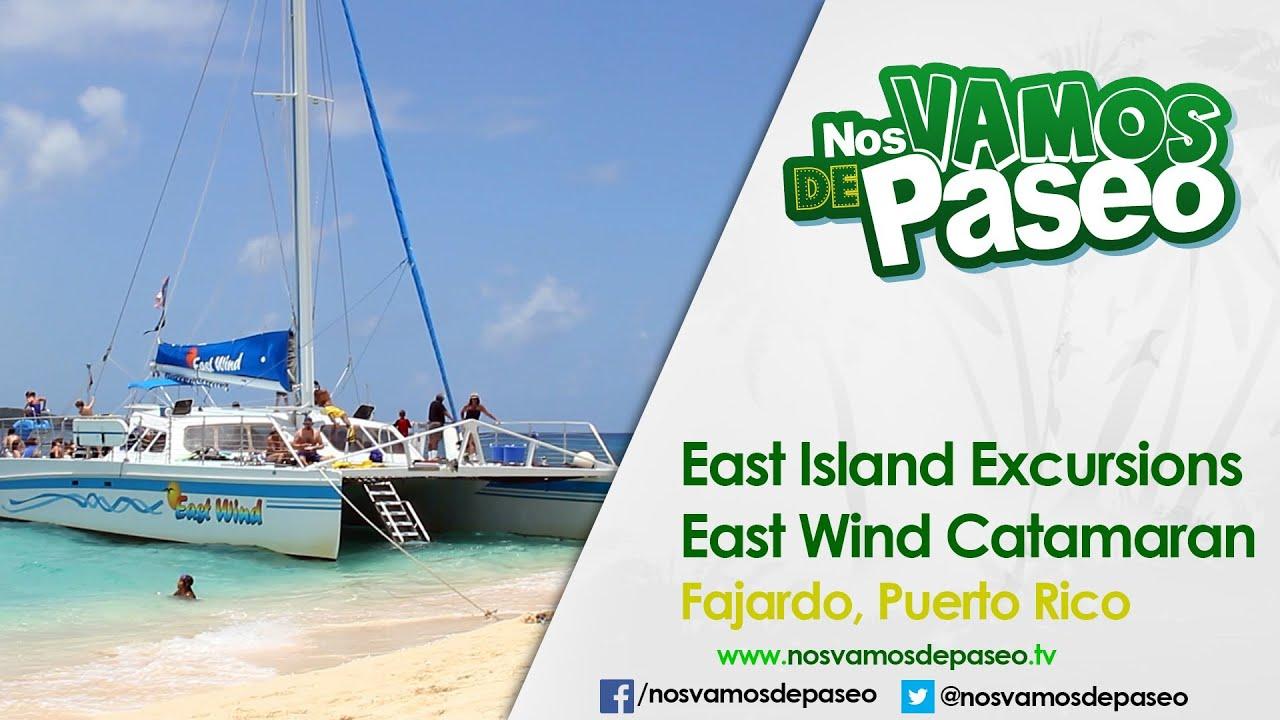 Catamaran East Wind Fajardo Youtube