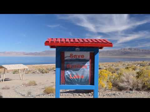 Walker Lake Nevada, Free Boondocking, BLM.......Nov. 2017