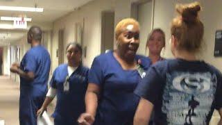 Nurse Cries After Seeing Paraplegic Walk