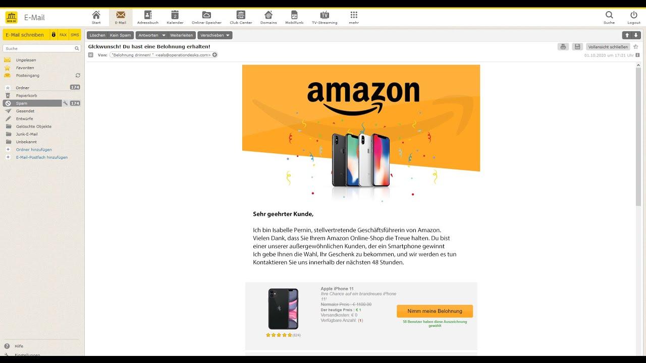Amazon Iphone Gewinnspiel