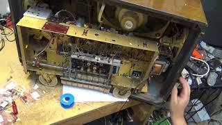 Grundig 3055 Vintage table radio restoration