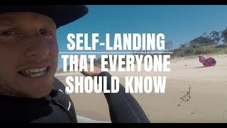 The Self Landing Technique Every Kitesurfer Should Know